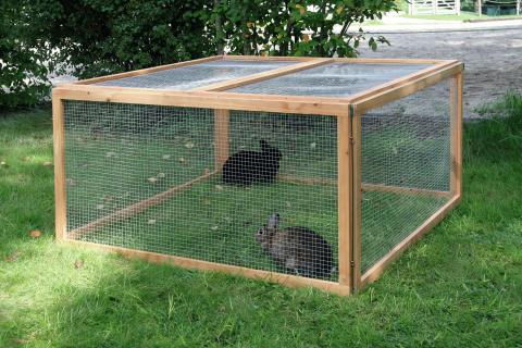 kerbl freilauf freilaufgehege freigehege auslauf f r nager hasen kaninchen ebay. Black Bedroom Furniture Sets. Home Design Ideas